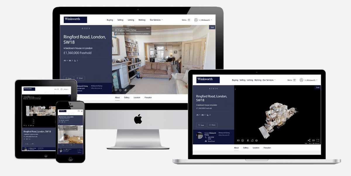 visite virtuelle de votre site web | virtual tour of your website
